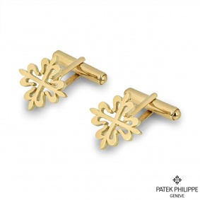 Patek Philippe Yellow Gold Calatrava Cross Cufflinks